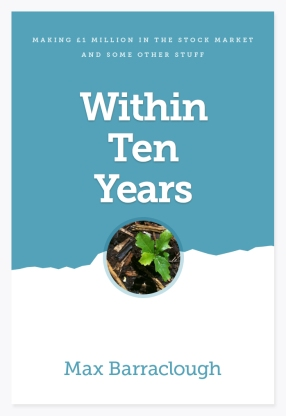 Book cover artwork for Within Ten Years