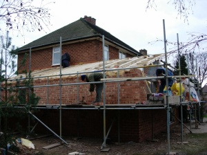 Building work on mums house
